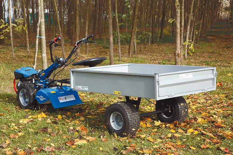 Motocoltivatore con carrello usato pompa depressione for Motocoltivatore usato lazio